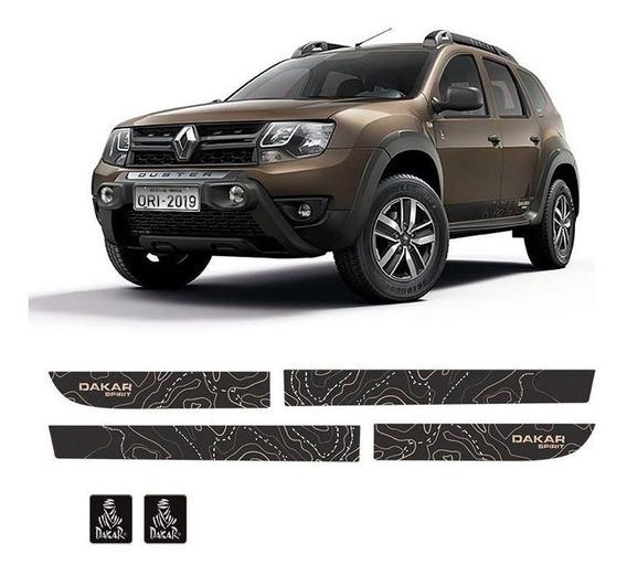 Faixa Lateral Adesivo Duster Dakar Spirit Modelo Original