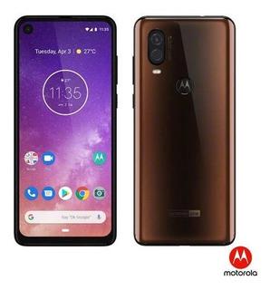 Smartphone Motorola One Vision 6,3 4g,128gb 48mp - Xt1970-1