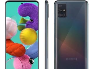 Celular Samsung A51 Novo Na Caixa