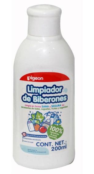 Limpiador Líquido Para Biberón 200 Ml, Pigeon