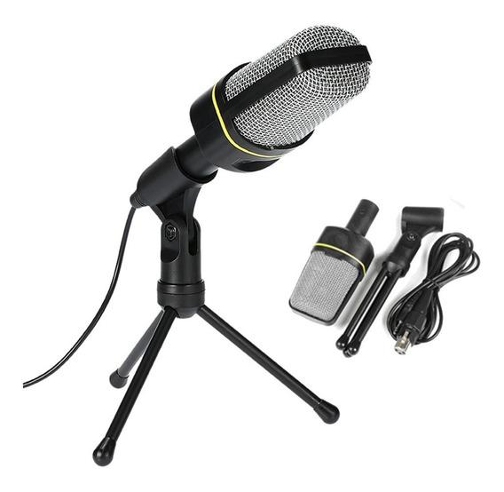 Microfone Celular Condensador Voz Violão Sf920
