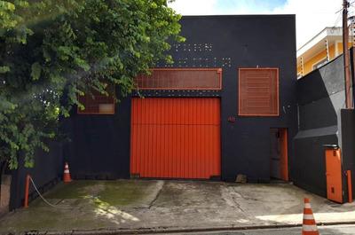 Galpão À Venda, 312 M² Por R$ 1.100.000 - Vila Diva (zona Leste) - São Paulo/sp - Ga0067