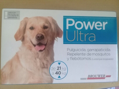Pipetas Power Ultra De 21 Kg A 40 Kg Y 41 A 60 Kg