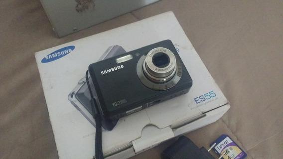 Camara Digital Samsung Es55, Se Uso 1 Vez,en Caja/accesorios