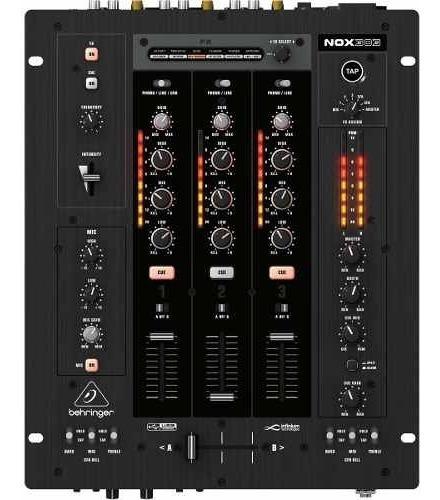Mixer Nox 303 Dj 3 Canais Behringer