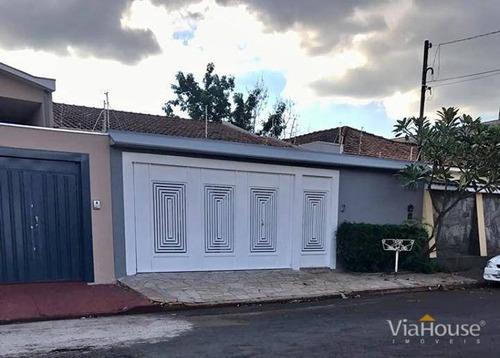 Casa Com 3 Dormitórios À Venda, 136 M² Por R$ 398.000,00 - Vila Monte Alegre - Ribeirão Preto/sp - Ca3861