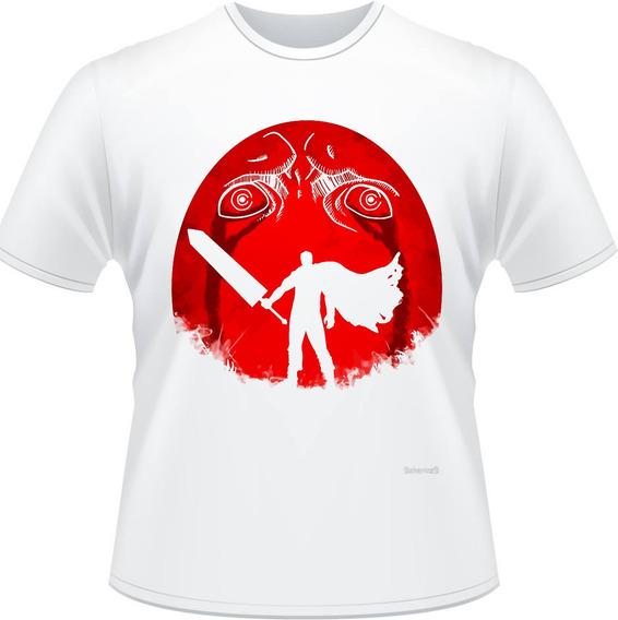 Camiseta Berserker Ovo Behelit Anime Camisa Masculina
