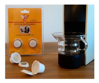 Capsula De Cafe Reutilizable Recargable Nespresso