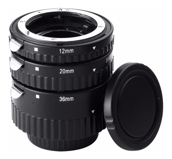 Tubo Extensor Macro Meike Nikon F-mount Cpu Af Afs Auto Foco