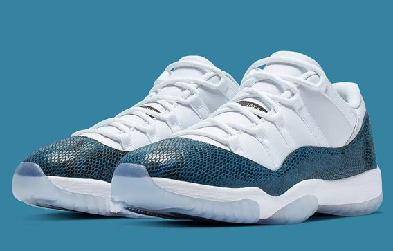 Air Jordan Retro 11 Low Le Snake Skin
