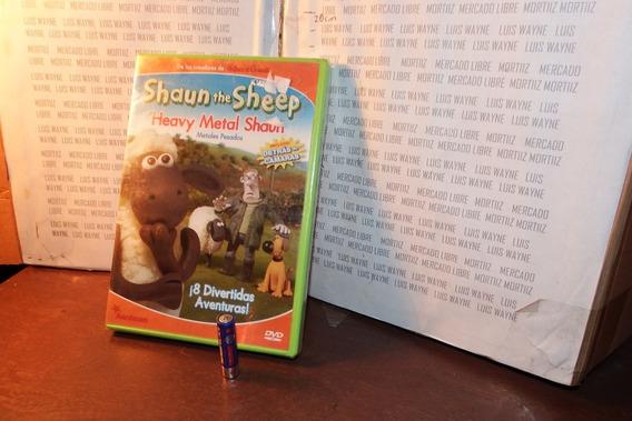 Dvd Shaun The Sheep 8 Divertidas Aventuras Metales Pesados