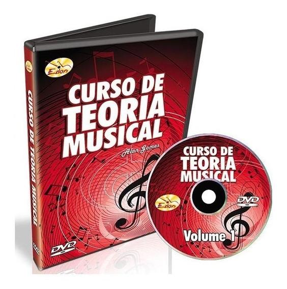 O Melhor Curso De Teroria Musical Edon Volume 1 Em Dvd.