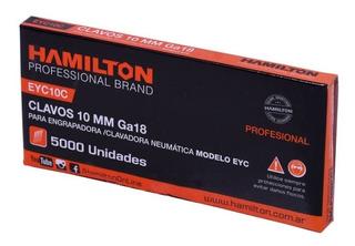 Clavos 15mm Hamilton X 5000 Un. Engrapadora Clavadora Clavo