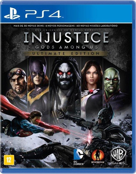 Injustice Gods Among Us Ultimate Edition - Ps4 -novo -fisica