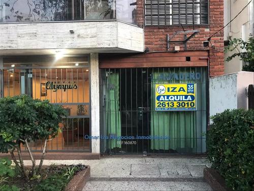 Alquiler Local Comercial En Pocitos Sobre Libertad