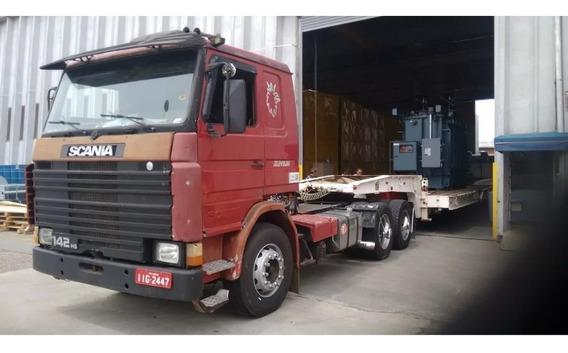 Scania R142 Hs Ano 1987 55mil E 2 Internacionais 9800 2001