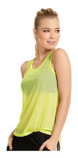 Blusón Deportivo En Malla Verde Para Mujer - Haby (61901)