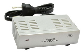 Modulador Rca Audio Video Para Rf - Original Mxt