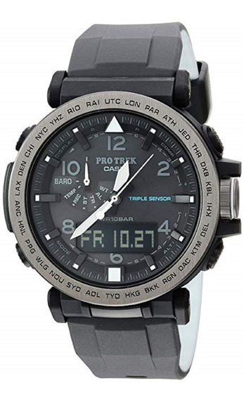 Relógio Casio Protrek Prg 650y 1cr Triple Sensor