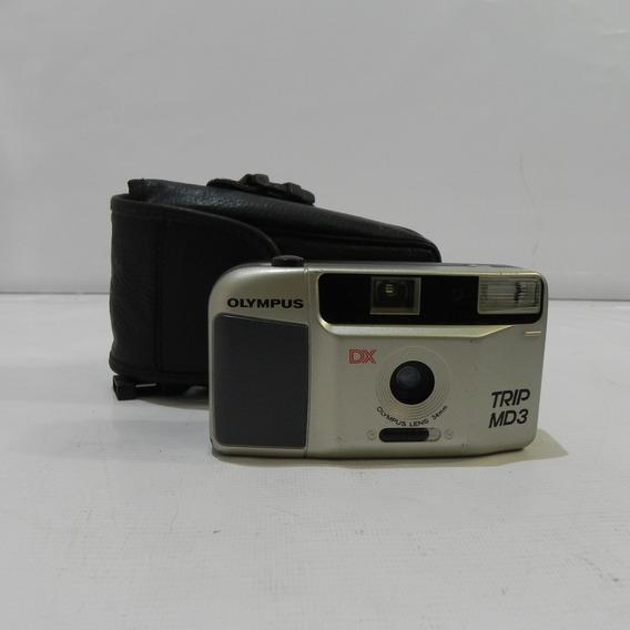 Câmera Analógica Antiga Olympus Trip Md3 35mm