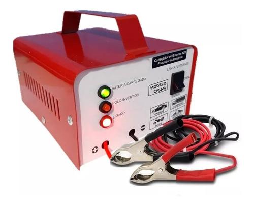 Carregador De Bateria 12v Até 300amperes Cf5 Inteligente