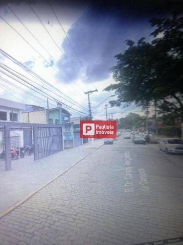 Galpão Para Alugar, 320 M² Por R$ 12.000/mês - Santo Amaro - São Paulo/sp - Ga0543