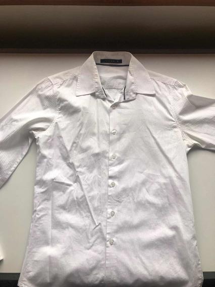 Camisa Tascani Blanca Entallada