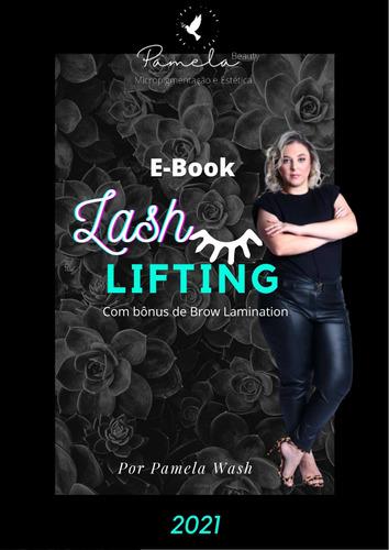 E-book De Lash Lifting E Prática Supervisionada Ccertificado