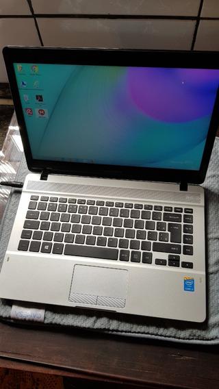 Samsung Ativ Np370e4k Preto, Prateado Notebook 35,6 Cm (14 )