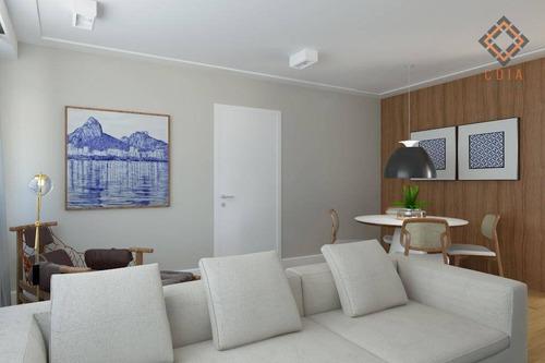 Imagem 1 de 10 de Apartamento Com 2 Dormitórios À Venda, 95 M² Por R$ 1.160.000,00 - Pinheiros - São Paulo/sp - Ap45642