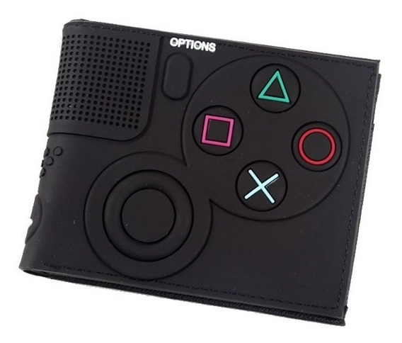 Carteira Sony Playstation Ps4 Controle Gamer