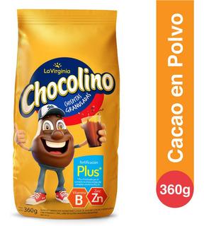 Chocolino Cacao En Polvo Fortificacion Plus La Virginia 360g