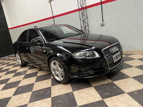 Audi A4 Sline 3.2 V6 Automatico Negro Impecable Permuto