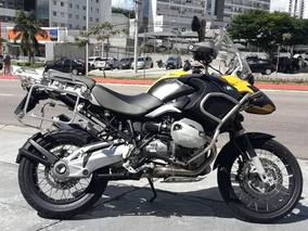 Bmw Gs 1200 Adventure 2010 Amarela Impecavel