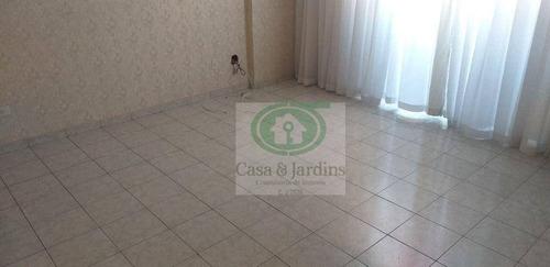 Imagem 1 de 30 de Ótimo Apartamento - 76,29m2, Campo Grande - Vista Livre - Santos - Ap6739