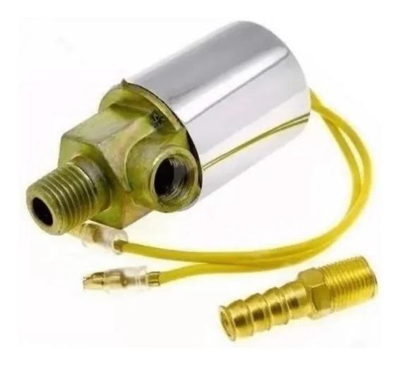 Válvula Solenoide Elétrica Buzina A Ar / 12v 24v ( Bivolt )