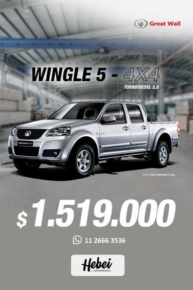 Wingle 5 Doble Cabina 4x4 Pickup Ideal Trabajo Y Carga