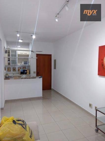 Apartamento Com 1 Dormitório Para Alugar, 50 M² Por R$ 1.800,00/mês - Encruzilhada - Santos/sp - Ap5653
