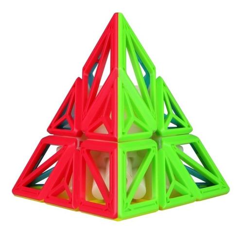 Cubo Rubik Qiyi Pyraminx Dna Stickerless Original