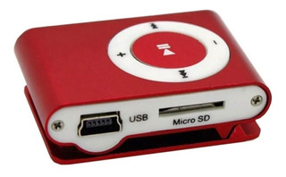 Mp3 Shuffle Con Clip Sujetador Soporta 16 Gb