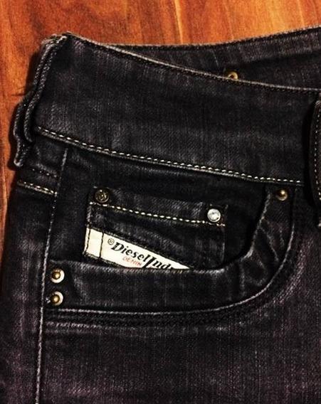 Calça Diesel Feminina Jeans Ronhar 34 Importada Original