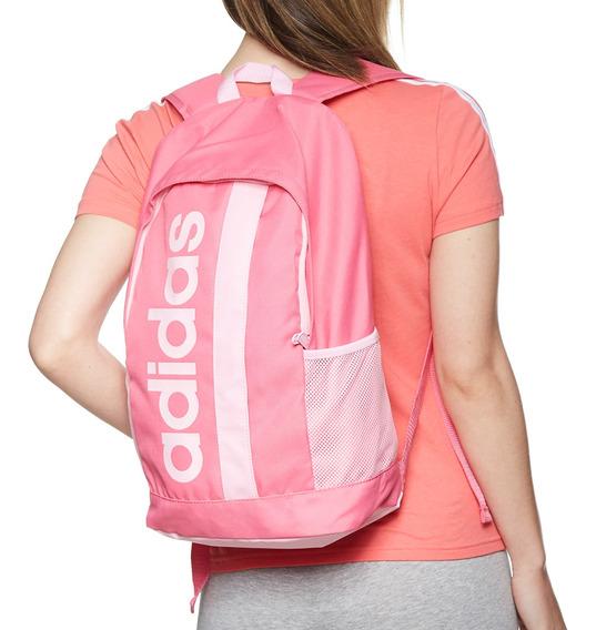 Mochila adidas Rosa Linear Core - Dt8619