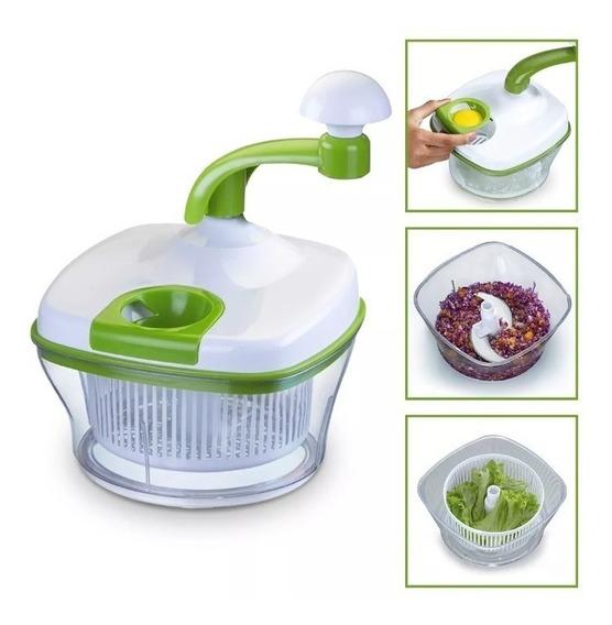 Processador Manual Legume Verduras Picador Fatiador Cozinha