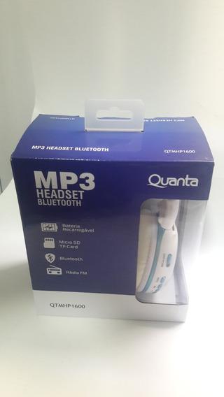 Headfone Fone De Ouvidos Bluetooth Quanta Qtmhp1600