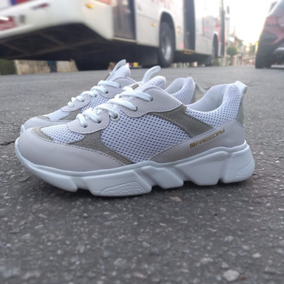 Tenis Hype Sneaker Freeday Branco-lançamento-original