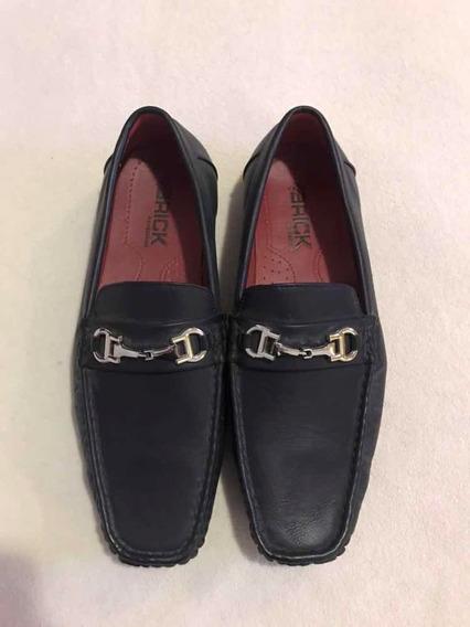 Zapatos Náuticos Mocasines Negros Talle 43