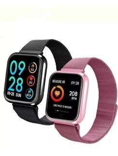 Smartwatch Relógio Inteligente Ios Android + Duas Pulseiras