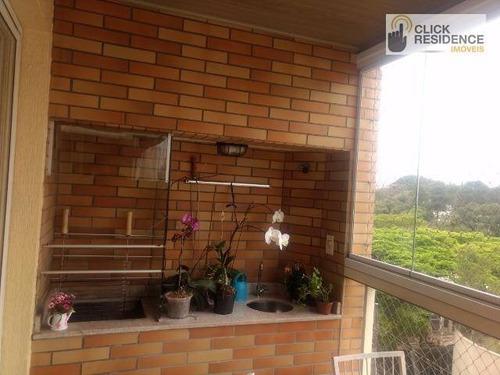 Imagem 1 de 9 de Apartamento Com 3 Dormitórios À Venda, 130 M² Por R$ 800.000,00 - Nova Petrópolis - São Bernardo Do Campo/sp - Ap0697