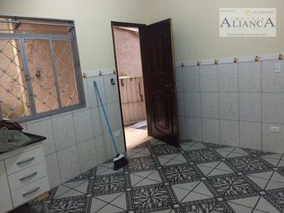 Casa Residencial Para Locação, Alves Dias, São Bernardo Do Campo. - Ca0169