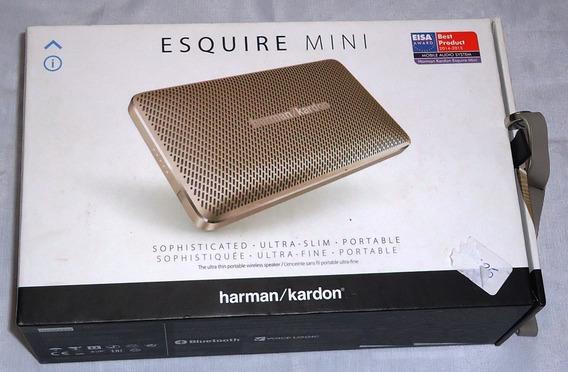 Caixa Harman / Kardon Esquire Mini Original! - Com Detalhe!
